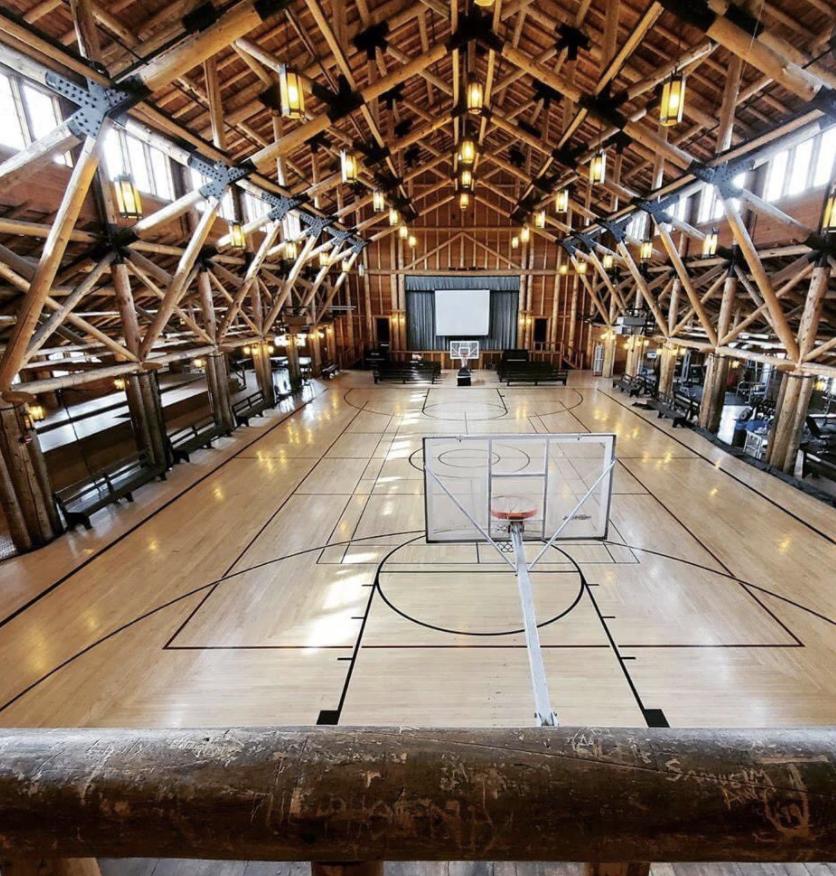 yellowstone basketball court